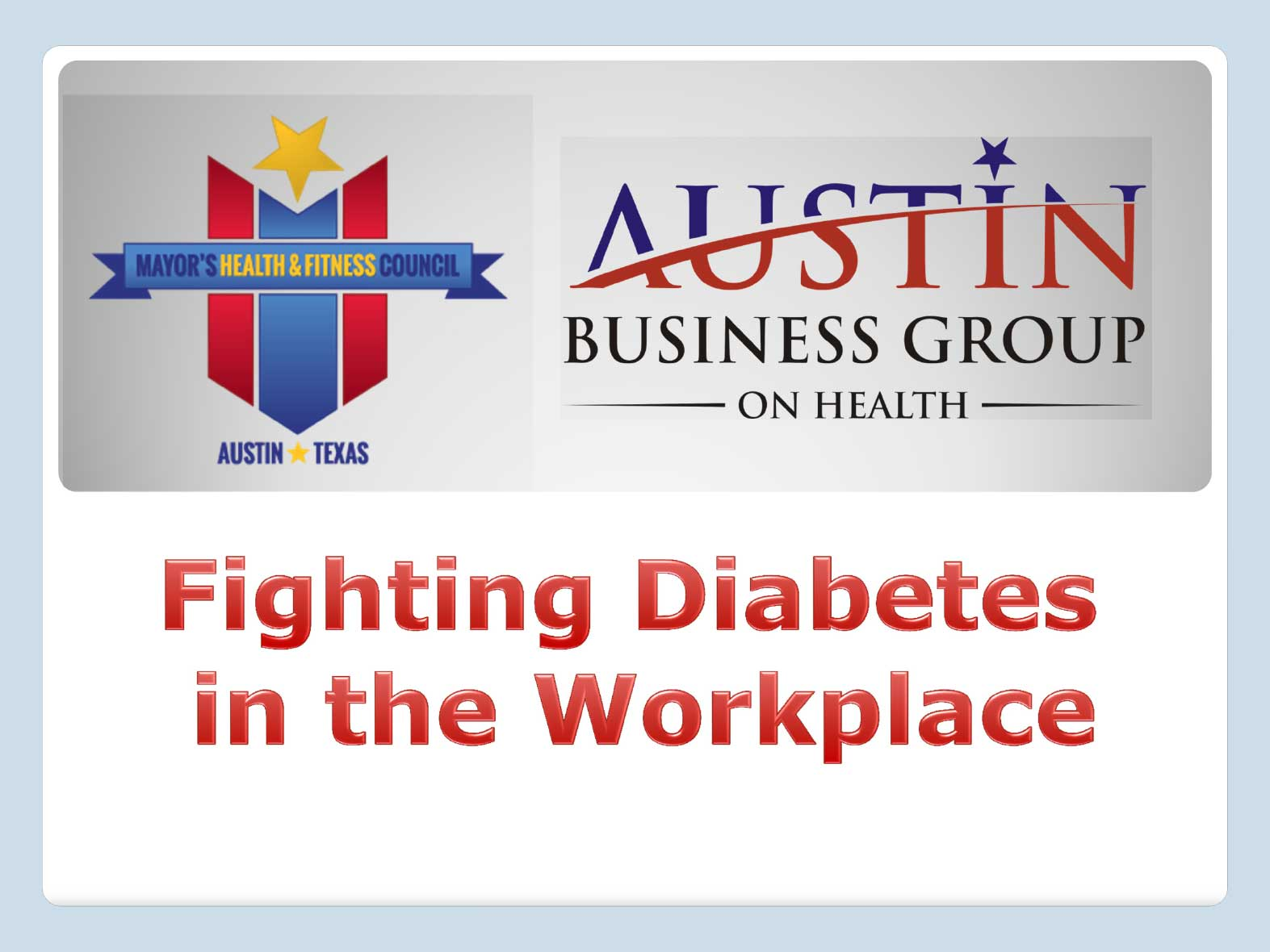 Fighting Diabetes in the Workplace