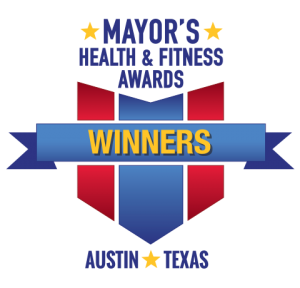 Logo for Mayor's Health and Fitness Award Winners